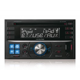 Alpine 2DIN CD-tuner